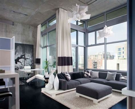 modern chic living room ideas chic urban apartments