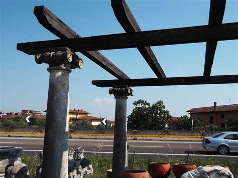 colonne da giardino colonna in pietra scolpita colonna h cm 270x43x43 kg 350