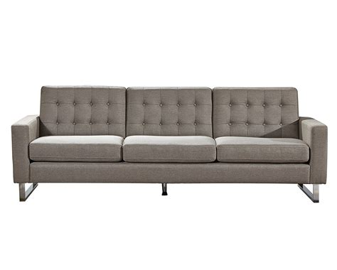 angela grey fabric modern sofa and loveseat set home