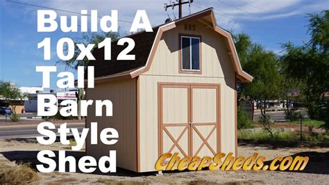 Free 10×12 Shed Plans With Loft