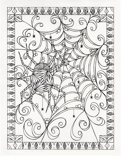 halloween coloring pages detailed 198 b 228 sta bilderna om halloween to color p 229 pinterest