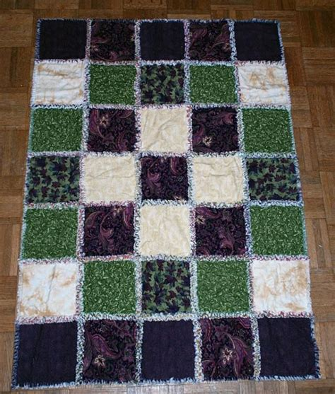 Easy Rag Quilt Tutorial by Find Out How Easy It Is To Make A Rag Quilt No Matter