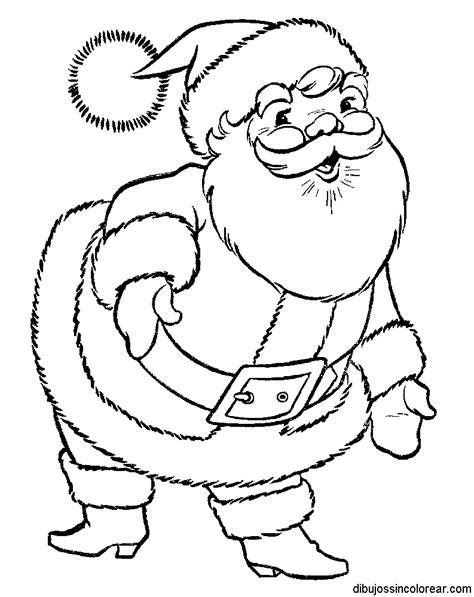 dibujos para colorear de papa noel santa claus viejito dibujos de pap 225 noel santa claus para colorear