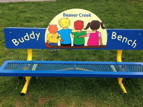 intrducing the new buddy bench at beaver creek