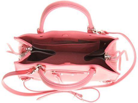 Tas Wanita Fashion Bottega Papier Mini balenciaga papier mini leather tote in pink flamingo
