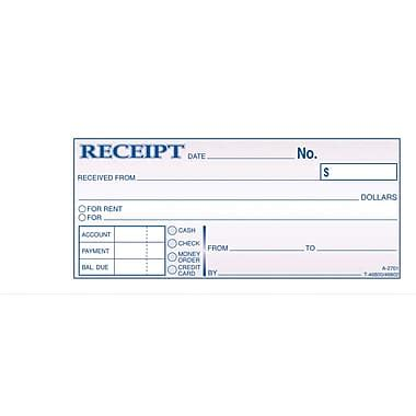 generic receipt template general receipt form receipt template with sle quotes