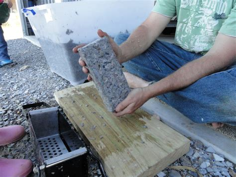 How To Make A Paper Brick - murra mumma reduce reuse recycle paper bricks