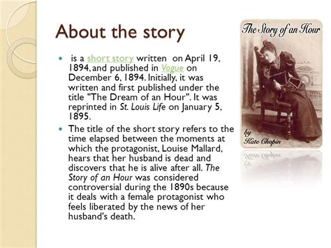 Kate Chopin The Story Of An Hour Essay by Kate Chopin The Story Of An Hour Essay Botbuzz Co