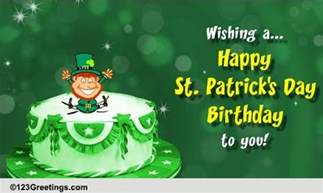 st s day birthday cards free st s day