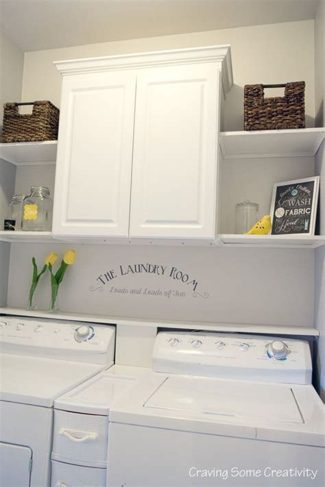laundry with shelves 25 best ideas about laundry room shelves on