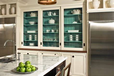 painting inside of kitchen cabinets project idea painting cabinet interiors the doodle house