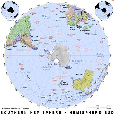southern hemisphere public domain maps  pat