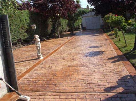 pavimento da esterno carrabile cemento stato per pavimento esterno resistente