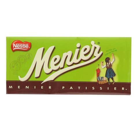 menier et guillaume ii chocolat meunier