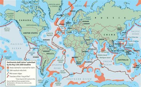 Us Continental Shelf by Geogarage Us Maritime Limits Based On Un Sea Treaty