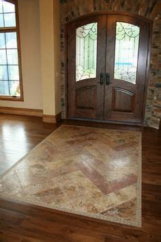 Front Foyer Tile Designs Tile Carpet Transition Remodeling