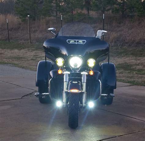 harley davidson driving lights lower fog lights on crash bar harley davidson forums