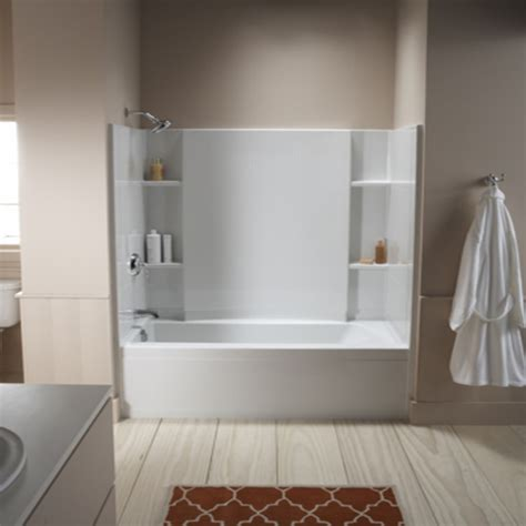 bathtub shower combo home depot square bathtubs sterling tub shower combo home depot tub