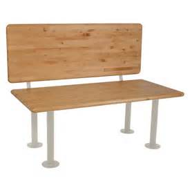 penco locker room benches ada locker room bench with back support