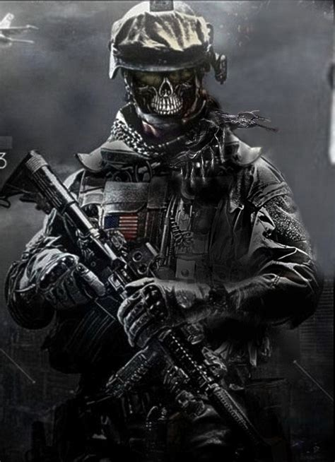 army soldier skull wallpaper www imgkid com the image