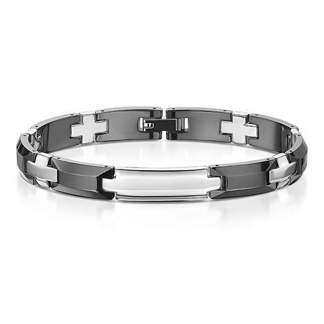 Ceramic Bracelet ceramic stainless steel black silver bracelet