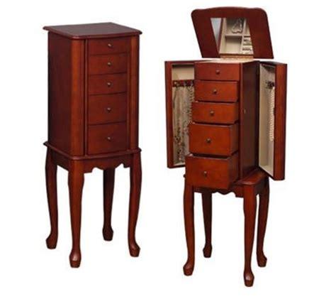 jewelry armoire walnut standing mirror standing jewelry armoire with mirror