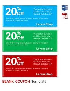 Coupon Card Template by Blank Coupon Templates 26 Free Psd Word Eps Jpeg
