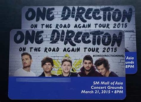 One Direction Ticket Giveaway - concerts promos contests sales and discounts philippines