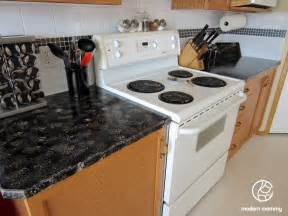Paint Kitchen Countertops Modern Home Diy Part 2 Granite Countertop Paint In The Kitchen