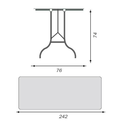 tavoli pieghevoli per catering tavolo pieghevole 242 x 76 x 74 per catering sagre