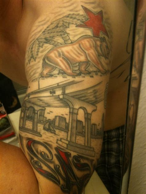 tattoo san diego you this is a of the san diego bay along