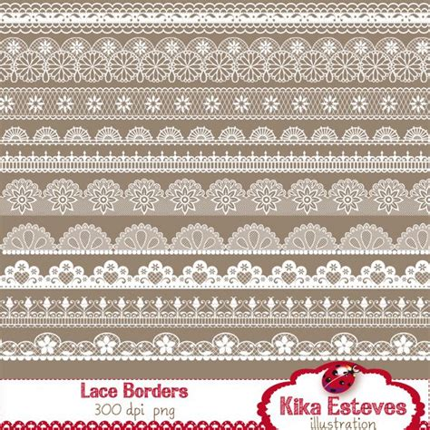 lace templates for photoshop lace borders pngs 5 wedding invitations pinterest