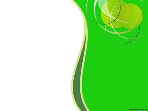 design powerpoint go green free abstract green circles backgrounds for powerpoint