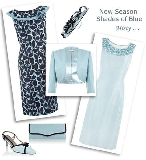 Dress Casual Wanita Laskar Dress Grey Navy pale blue shift dress and matching occasion bolero jacket