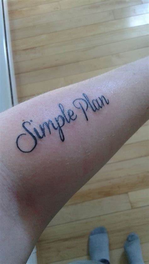 tattoo simple plan simple plan tattoo ii by dreamweavermtz on deviantart