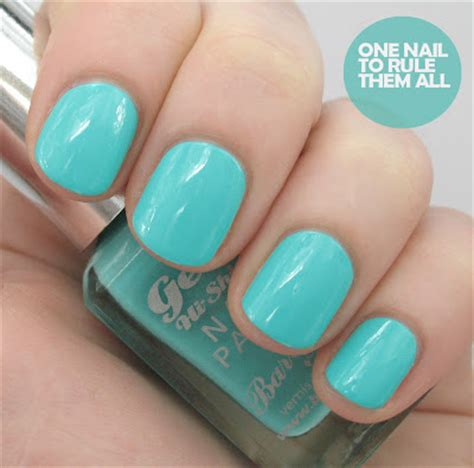 one nail to rule them all new barry m gelly nail paint 2013 swatches and review