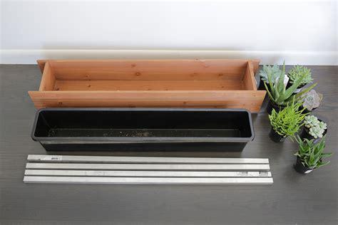 Narrow Window Box Planter by Planter Stand Diy A Beautiful Mess