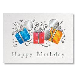 birthday cards for business trio of gifts business birthday cards from g neil