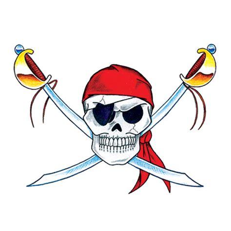 piraten totenkopf mit schwertern tattooforaweek