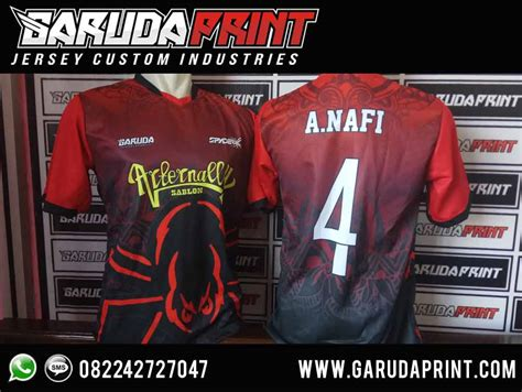 Kaos This Is Futsal Merah desain kaos futsal hitam merah yang keren garuda print garuda print