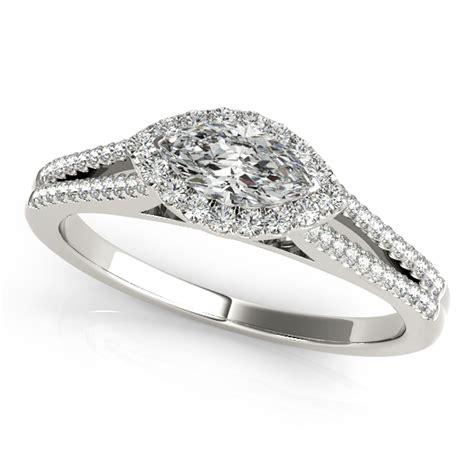 horizontal markise horizontal engagement rings from mdc diamonds nyc