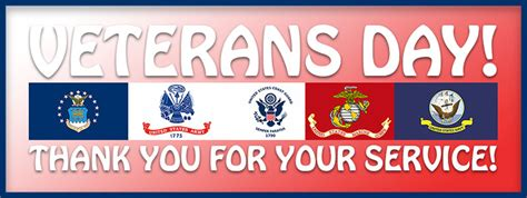 thank you for your service free veterans day clipart graphics