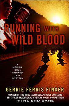 blood run caldridge series books running with blood by gerrie ferris finger review