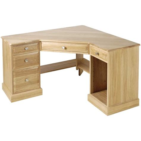 Solid Wood Computer Desks Office Drawer Storage Solid Wood Corner Computer Desk