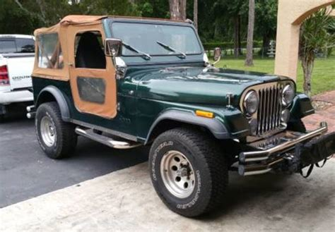 1987 Cj7 Jeep Omix Ada Bringing Work Jeeps To 2015 Sema Show
