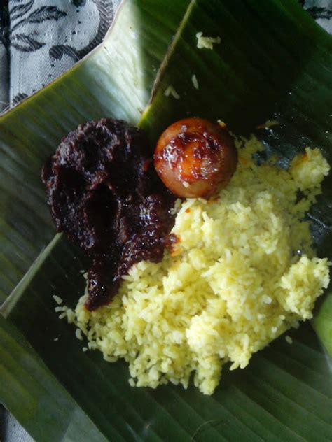 cara membuat nasi kuning banjar ahdiansyah rahasia kelezatan masak habang