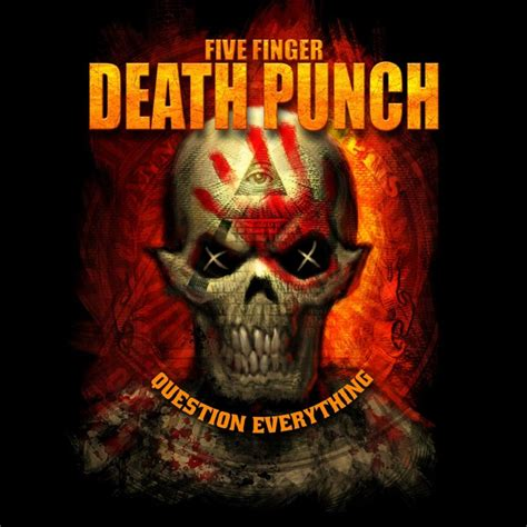 Tshirt Five Finger Punch five finger punch t shirt illuminati 19 90