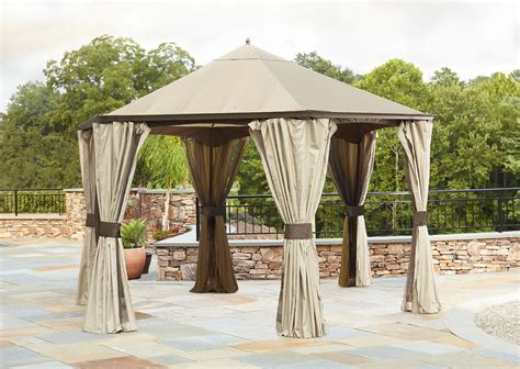 Hexagon Gazebo Will This Canopy Fit Garden Oasis Hexagonal Gazebo Product