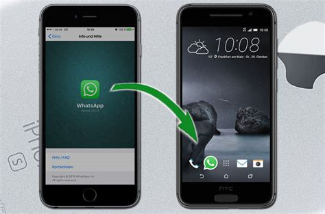 reset android handy transfer whatsapp backup iphone to android