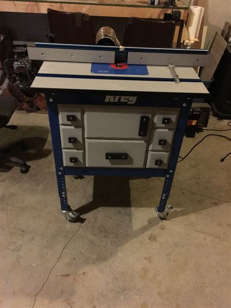 kreg router table upgrade general woodworking